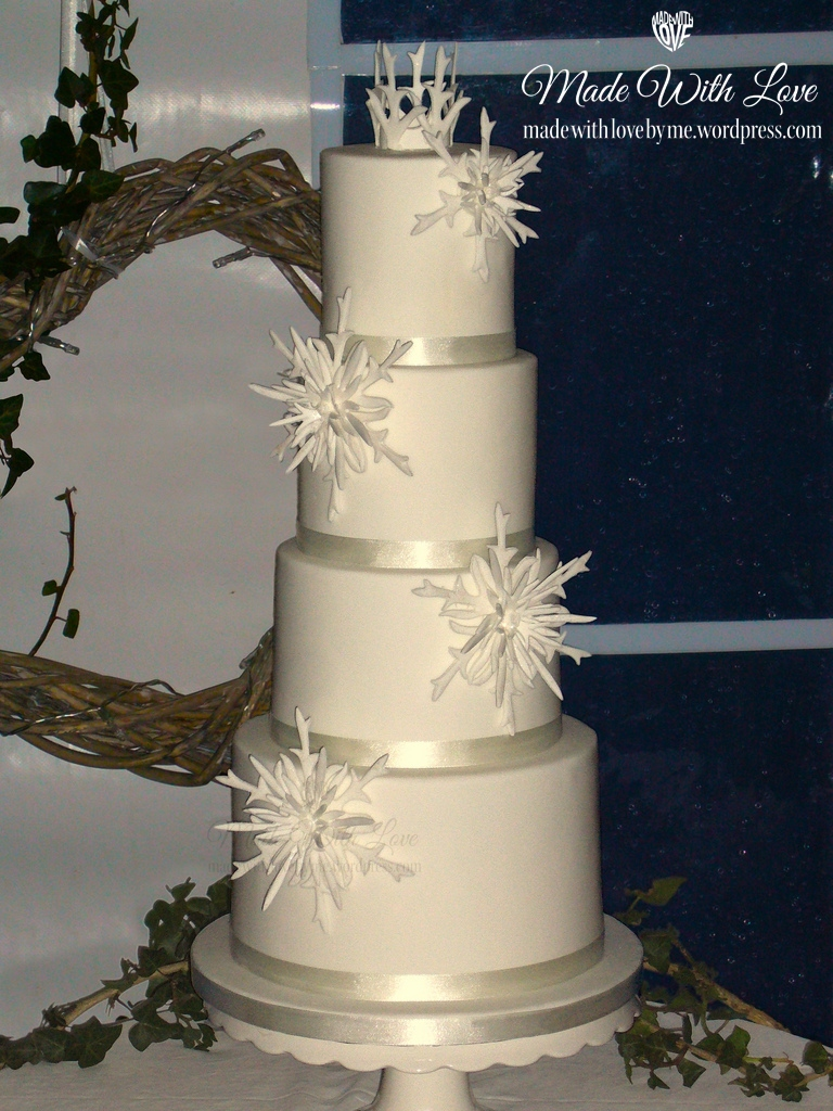 Four Tiered Cakes  Made With Love by me