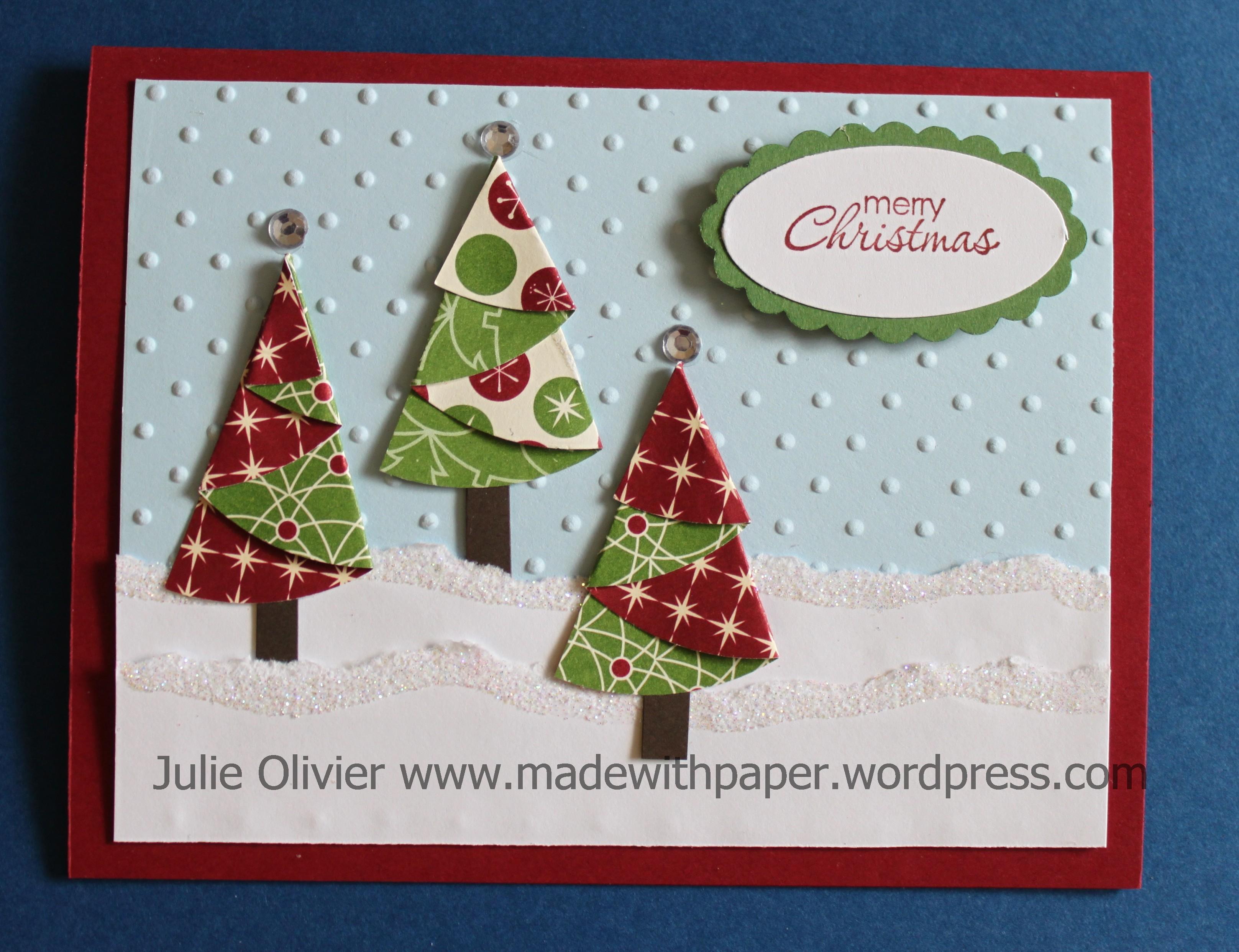 Be Of Good Cheer Designer Series Paper Christmas Trees