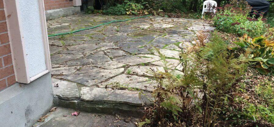 Flagstone Patios  Installation  Repair Work