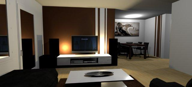 Wandfarbe Brauntöne - Wärme Und Natürlichkeit. Ideen Zum ... Farben Wohnzimmer Braun Beige