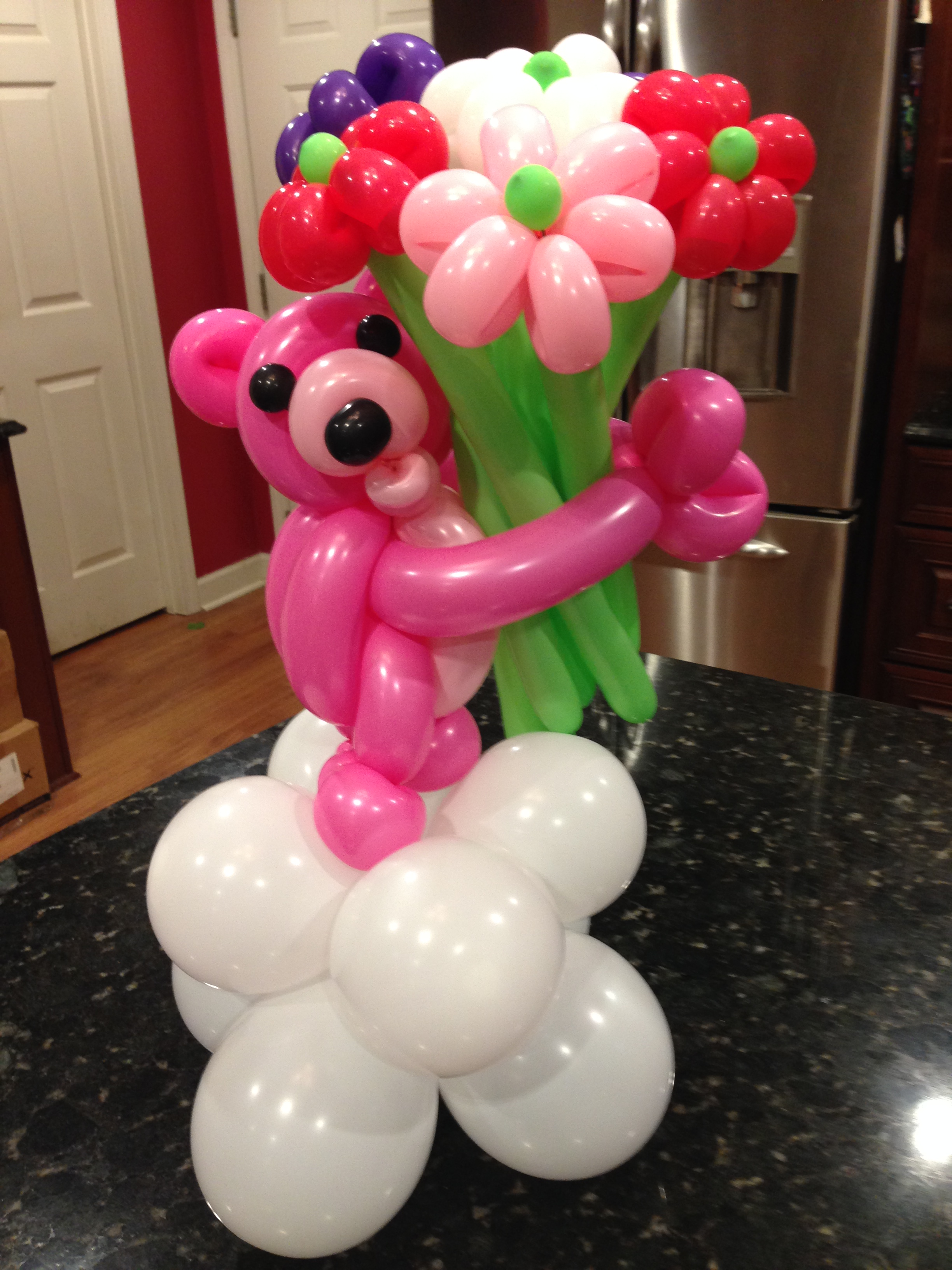Balloon Flower Bouquets In Charlotte Nc Party Decorations Made