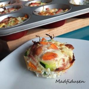 Grøntsagsmuffins