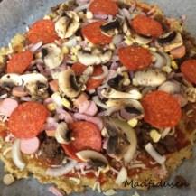Kikærtepizza