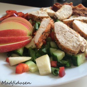 Kylling-bacon-salat
