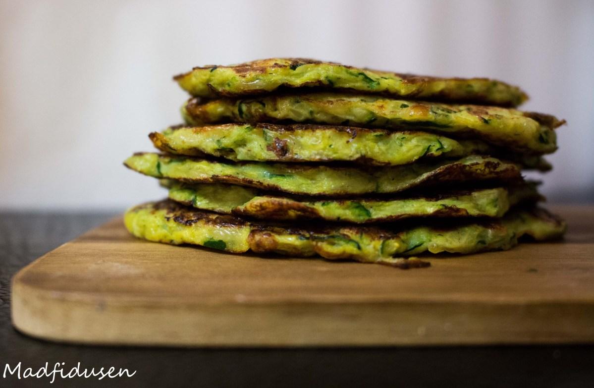 Zucchini fritters (Rösti af squash)