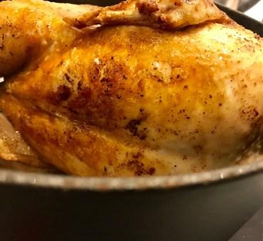 Grydestegt kylling med masser af smag