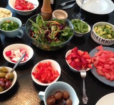 Lækker bland-selv salat
