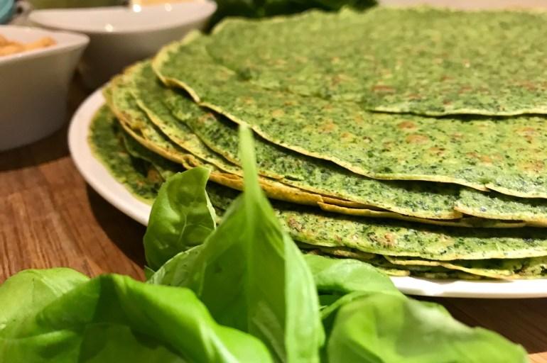 Grønne madpandekager med spinat og grønkål