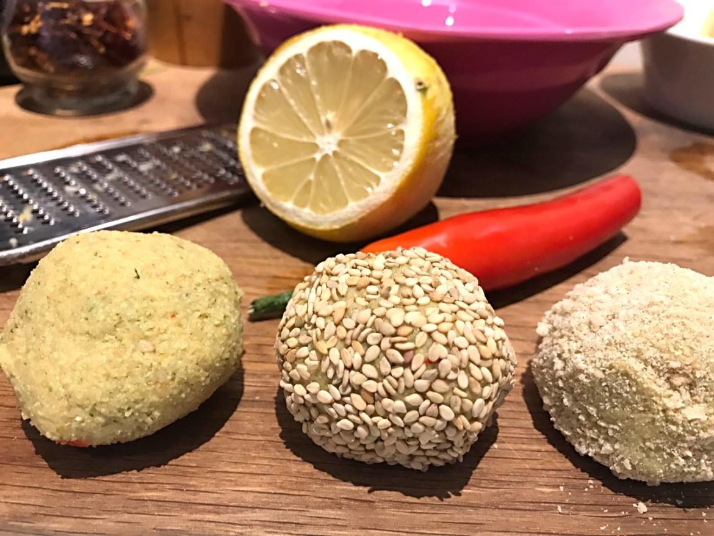 Hjemmelavede falafler - den dejlige smag af mellemøsten