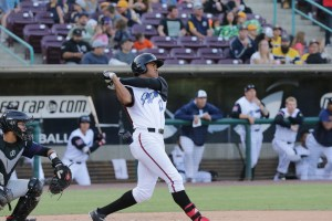 Padres outfield prospect Buddy Reed hits for Lake Elsinore Storm