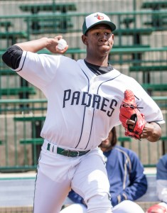 San Diego Padres pitching prospect Henry Henry