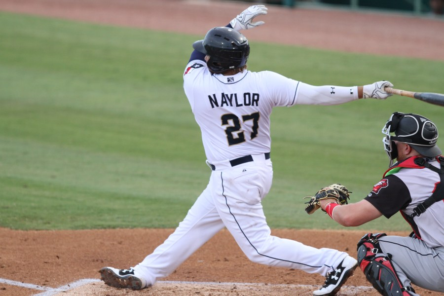 San Diego Padres prospect Josh Naylor hits for San Antonio Missions