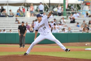 Padres prospect Cal Quantrill pitches in San Antonio Missions