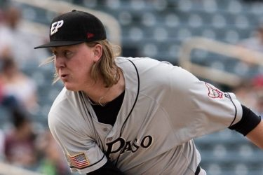 Padres prospect Trey Wingenter pitches for El Paso Chihuahuas