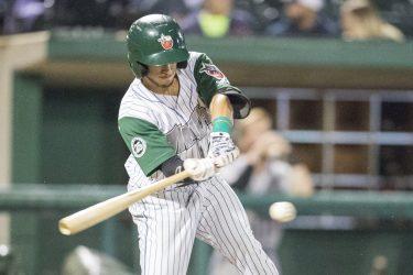 Padres prospect Robbie Podorsky bats for Fort Wayne TinCaps