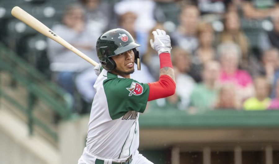 Padres prospect Gabriel Arias hits for Fort Wayne TinCaps
