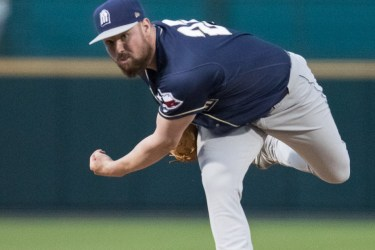 Padres prospect Logan Allen pitches for San Antonio Missions