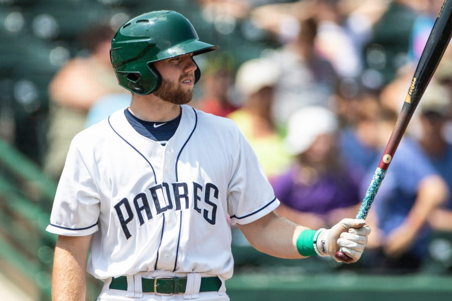 Owen Miller, San Diego Padres prospect, batting for Fort Wayne TinCaps