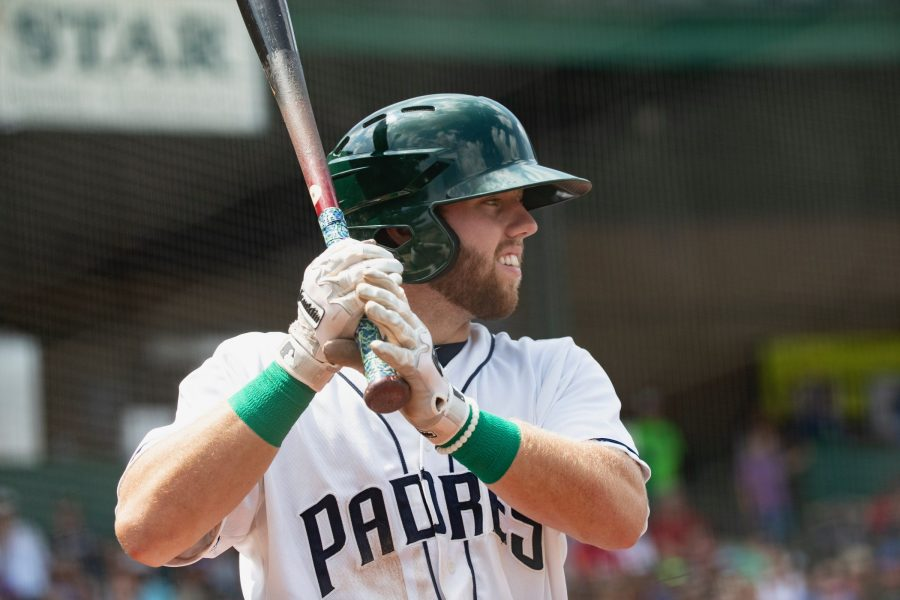 Owen Miller, San Diego Padres prospect batting for Fort Wayne TinCaps