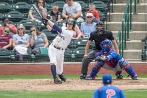 Padres prospect Jack Suwinsk bats for Fort Wayne TinCaps