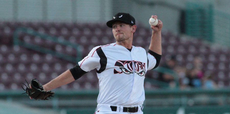 Padres prospect Nick Margevicius pitches for Lake Elsinore Storm