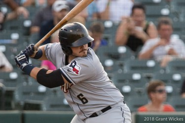 Padres prospect Kyle Overstreet bats for San Antonio Missions