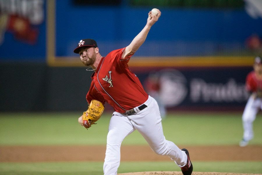 Logan Allen San Diego Padres top prospect pitching for El Paso Chihuahuas