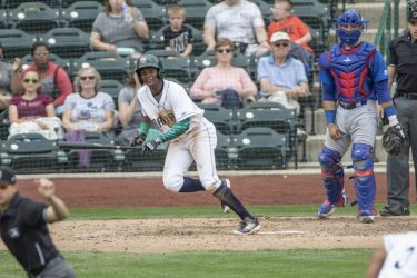 Esteury Ruiz, San Diego Padres prospect for Fort Wayne TinCaps