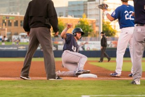 Owen Miller, San Diego Padres prospect, with the San Antonio Missions