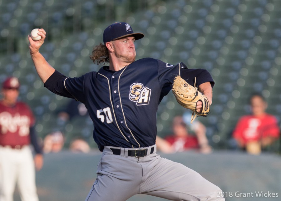 Padres prospect Chris Paddack, delivers for San Antonio