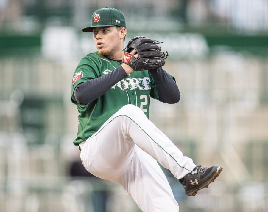 Padres top pitching prospect Ryan Weathers pitching for Fort Wayne TinCaps