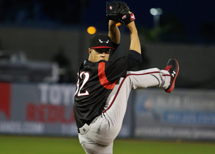 Padres prospect MacKenzie Gore pitches for Lake Elsinore Storm