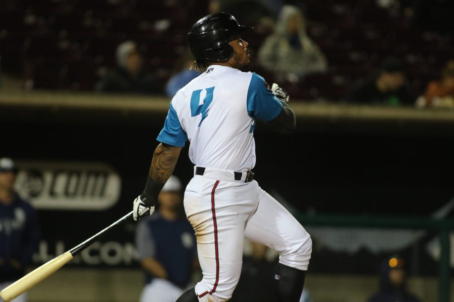 Luis Campusano, Padres prospect batting for Lake Elsinore Storm
