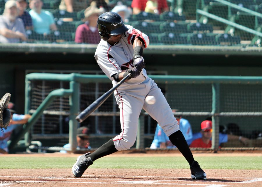 Padres prospect Esteury Ruiz for Lake Elsinore Storm