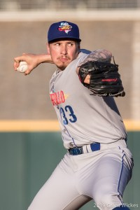 Lake Bachar, Padres prospect pitching for Amarillo Sod Poodles