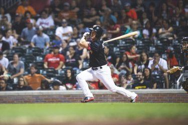 Padres prospect Boog Powell batting for El Paso Chihuahuas