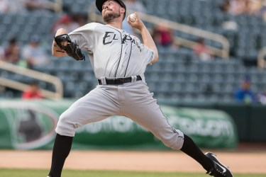 Padres prospect Kyle McGrath pitches for El Paso Chihuahuas