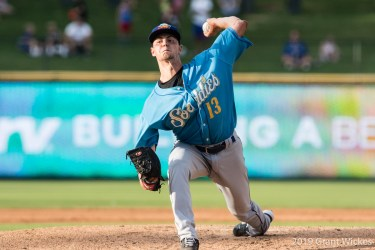 MacKenzie Gore pitches for Amarillo Sod Poodles
