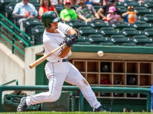 Michael Curry Padres prospect batting for Fort Wayne TinCaps