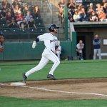 Jack Stronach, San Diego Padres prospect for Tri-City Dust Devils