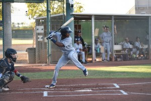 Yeisson Asencio bats for the AZL Padres