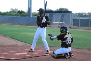 CJ Abrams at-bat during spring training