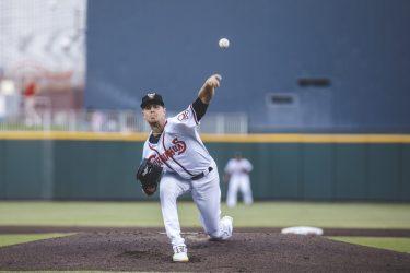 MacKenzie Gore pitching in El Paso