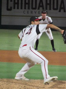 Padres prospect Gabriel Morales pitches for Lake Elsinore Storm