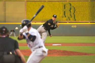 Adrian Martinez delivers a pitch for El Paso Chihuahuas