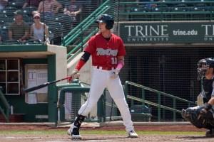 Padres Prospect Robert Hassell III bats for Fort Wayne TinCaps