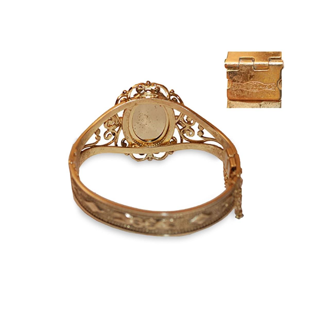 Whiting Davis jewelry mark
