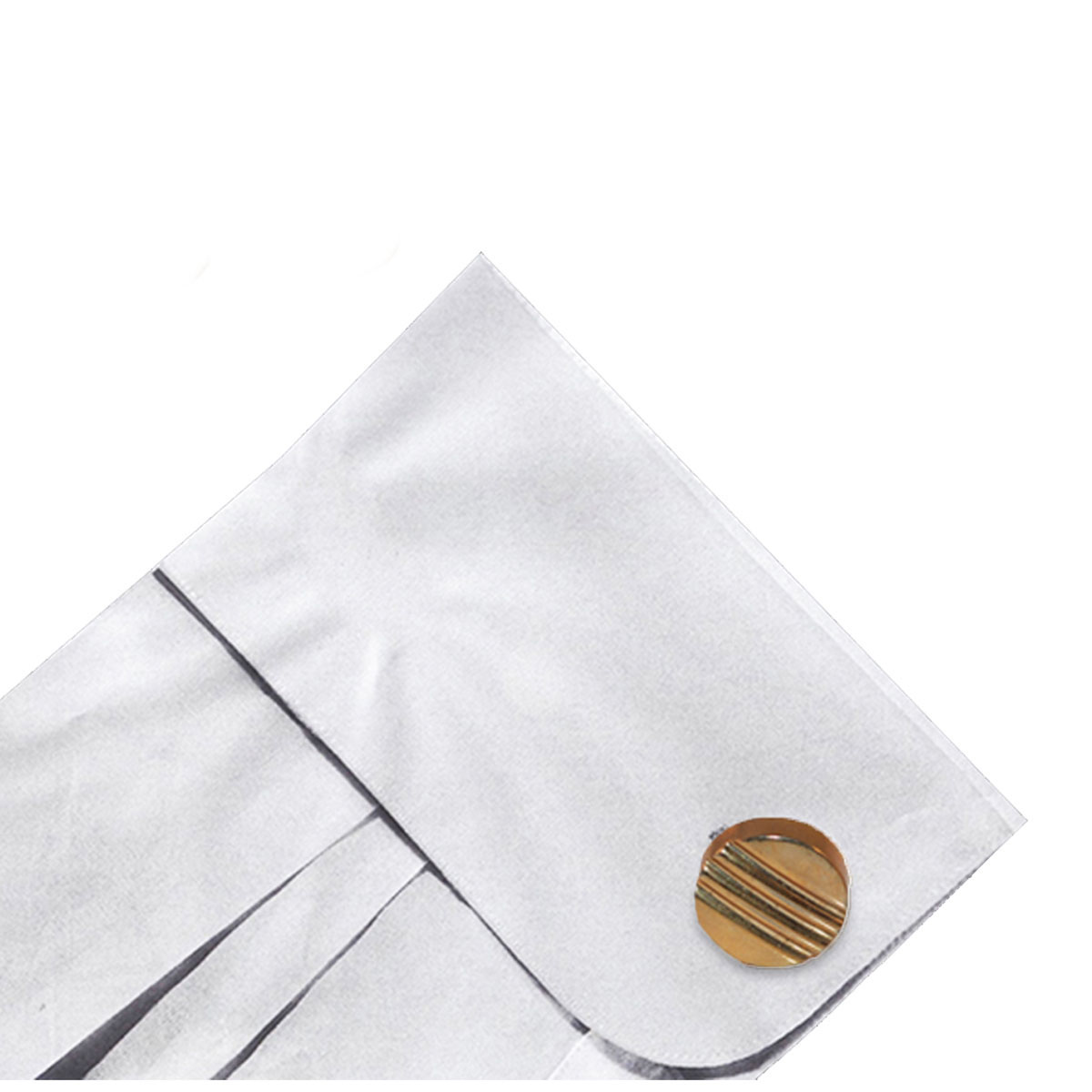 60s gold swank cufflinks