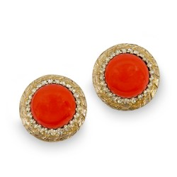 Vintage bergere earrings