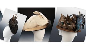 Vintage Bird hats